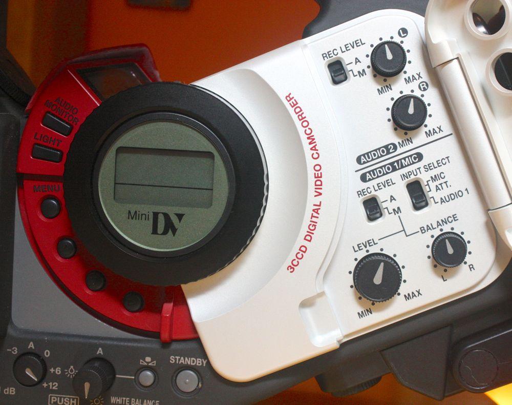 canon mixer