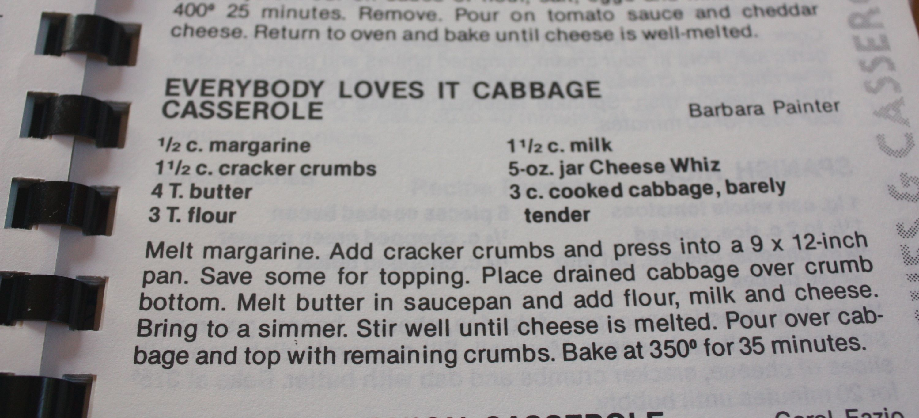 Everybody Loves It Cabbage