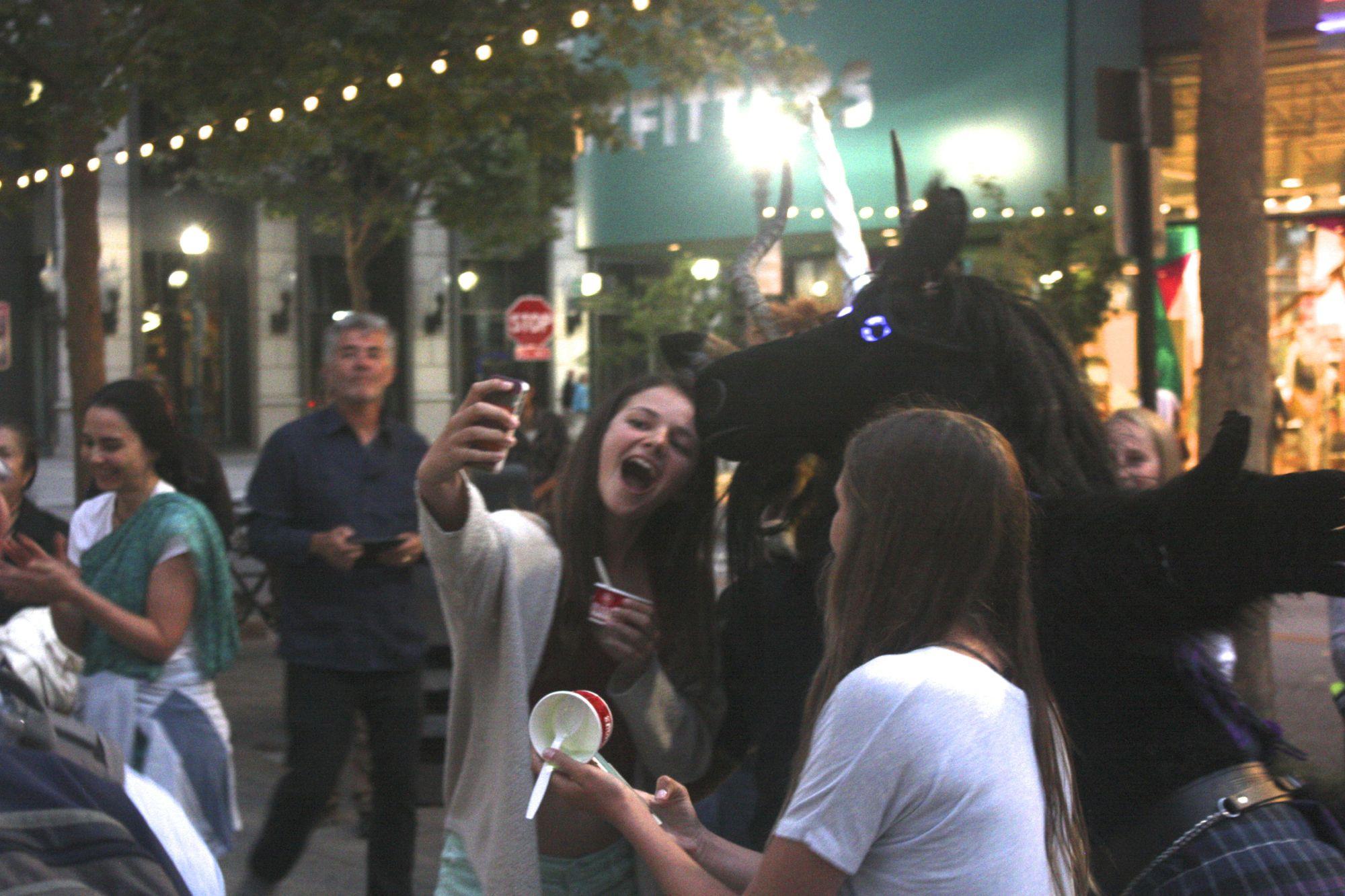 Unicorn selfies