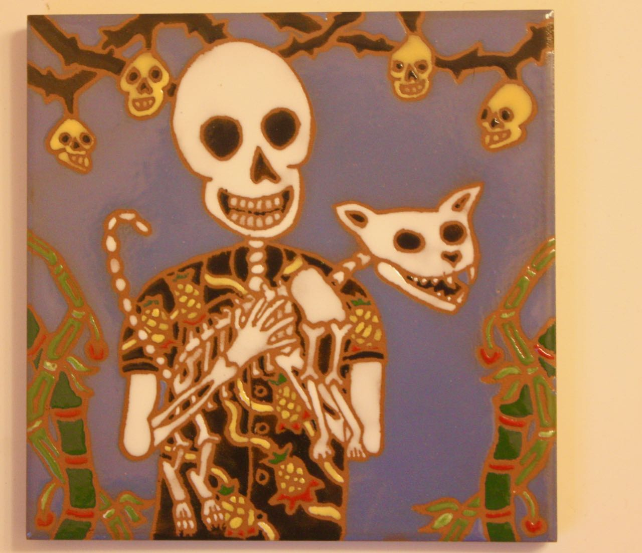 Calavera and Cat