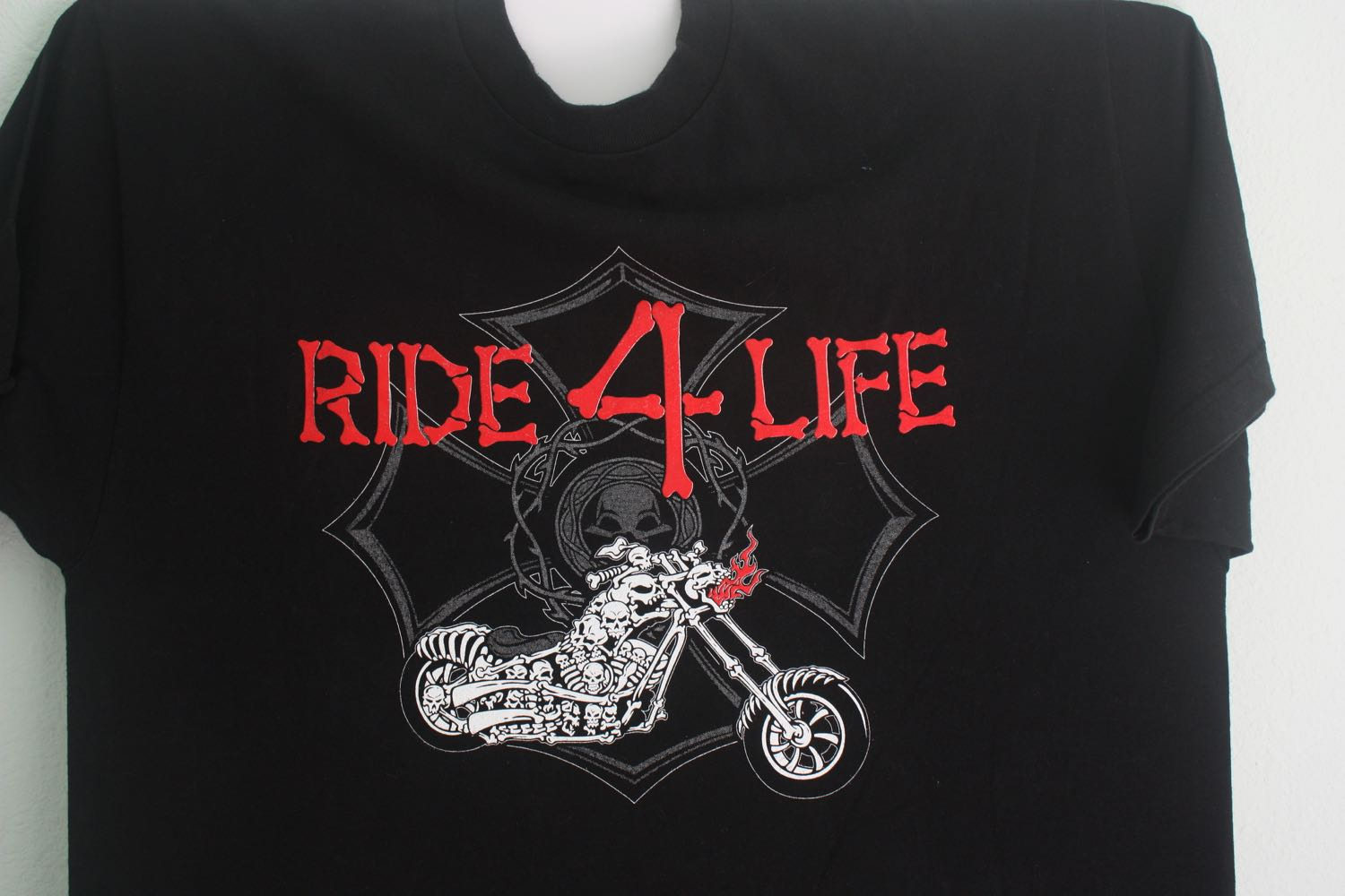 Ride 4 Life on Bone Motorcycle