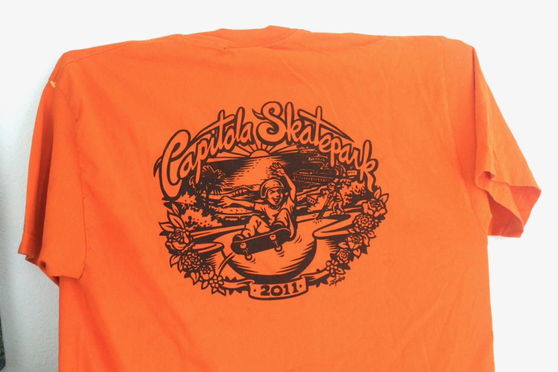Capitola Skate Park Tee Jimbo Phllips 1