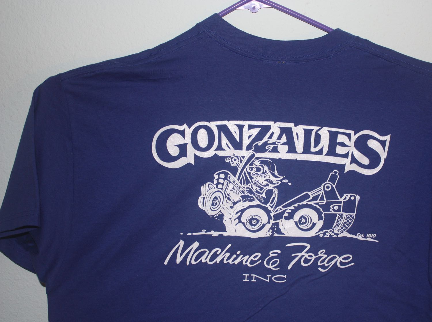 Gonzales Machine and Forge Ed Roth Homage Tee