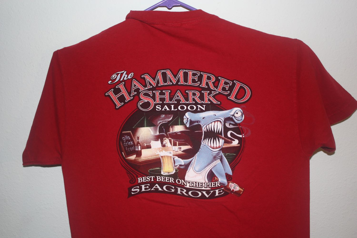 Hammered Shark Good Fake Bar Tee
