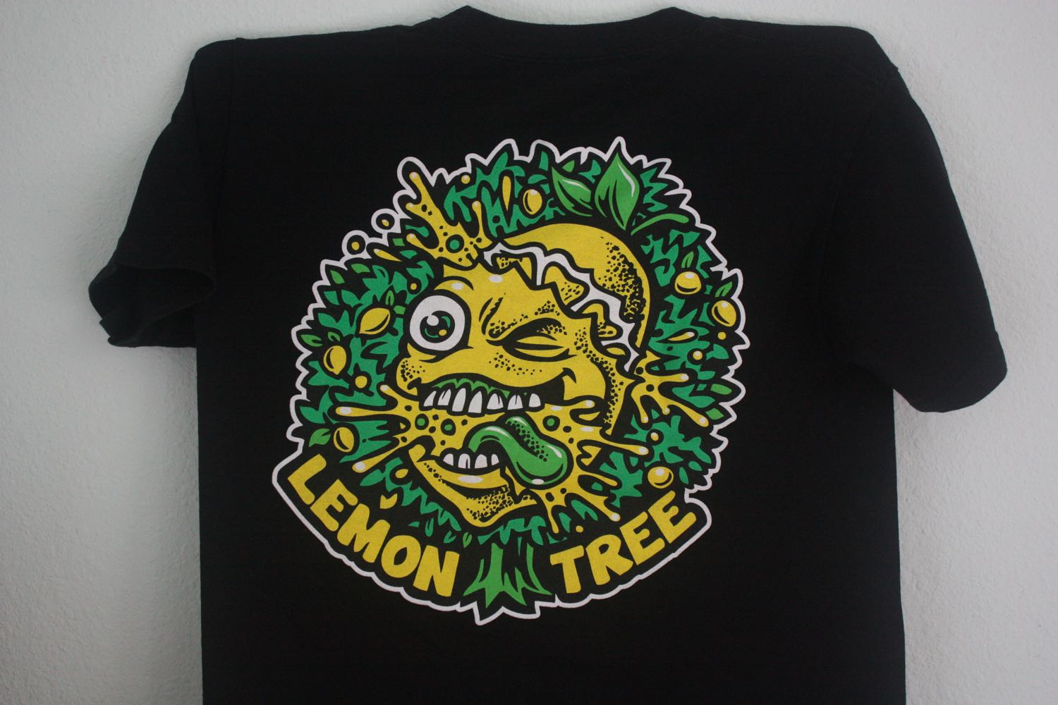 Lemon Tree Marijuana Tee by Jimbo Phllips 1