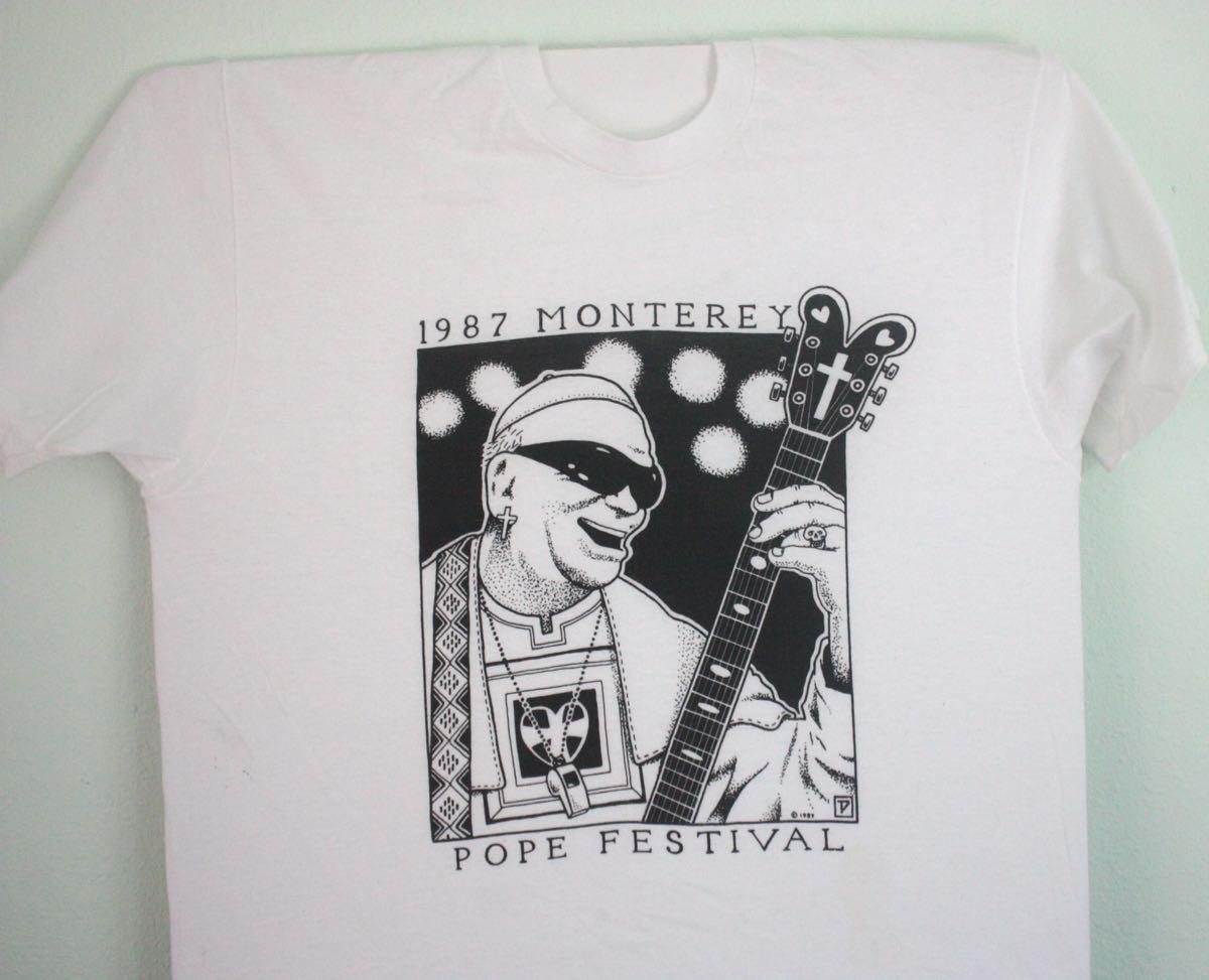 Monterey Pope Festival 1987 Tee