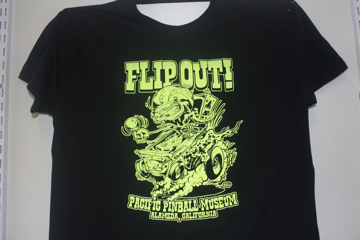 "Pacific Pinball Museum ""Flip Out"""
