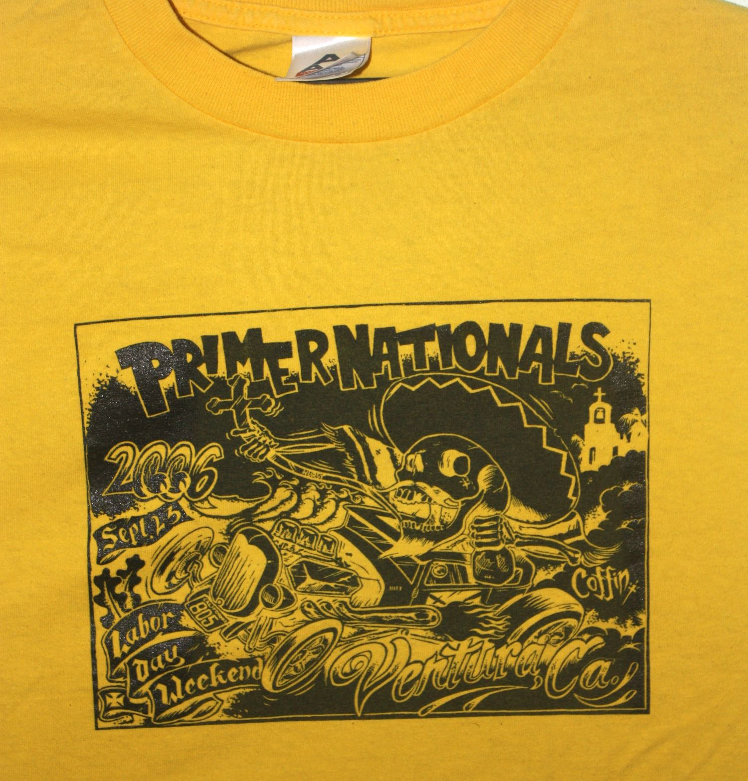 Primer Nationals Kustom Kar Show Tee