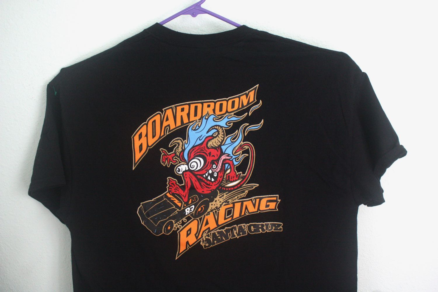 Santa Cruz Boardroom Racing Tee Color Design