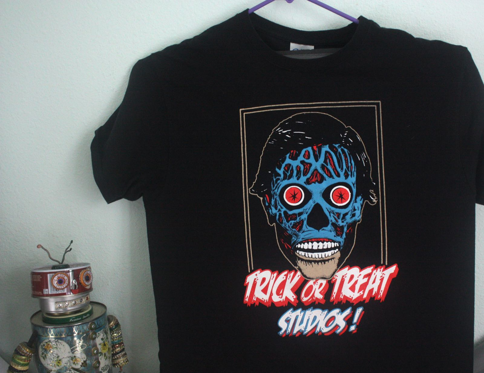 Santa Cruz Trick or Treat Studios They Live Tee