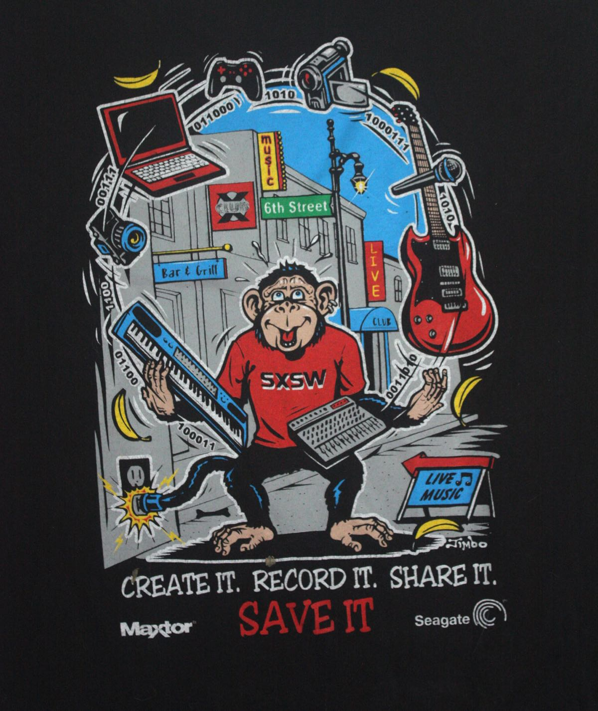 Seagate SXSW Tee by Jimbo Phillips