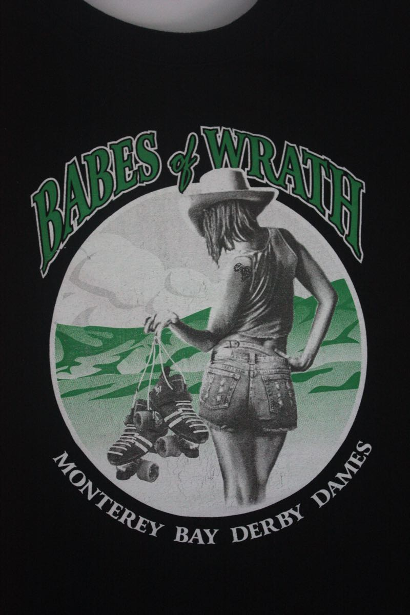 Babes of Wrath Monterey Roller Derby Tee
