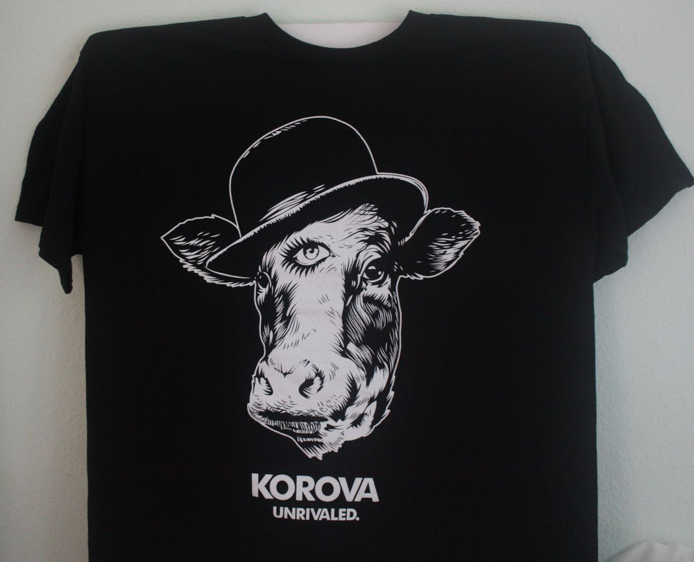 Korova 3 Eyed Cow Marijuana Tee