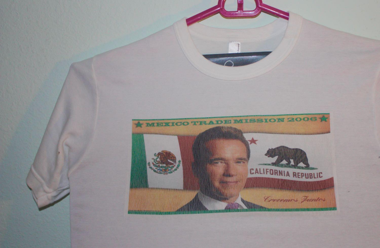 Arnold Schwarzenegger's Trip to Mexico