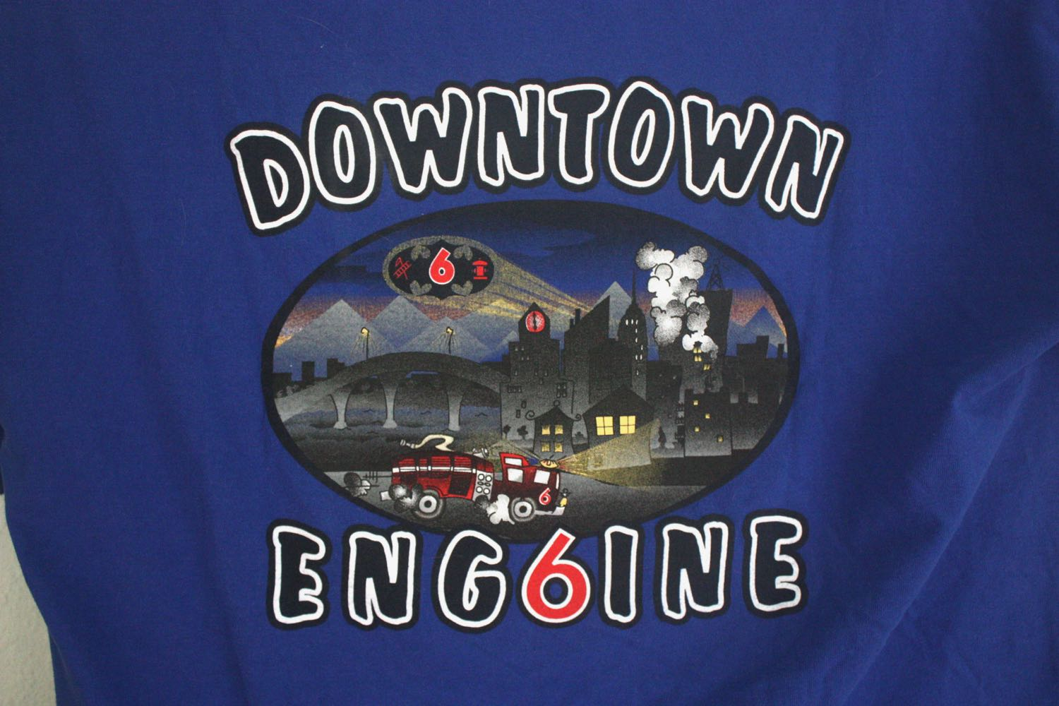 Engine 6 Fire Company Tee 4