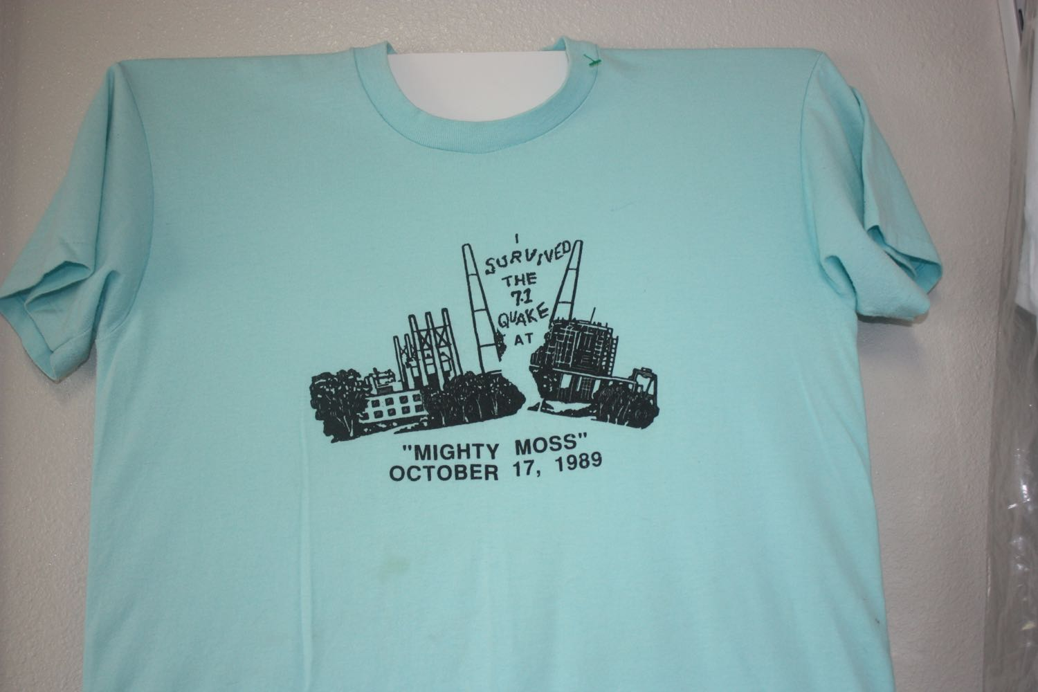 Moss Landing Power Plant 1989 Earthquake Tee 1