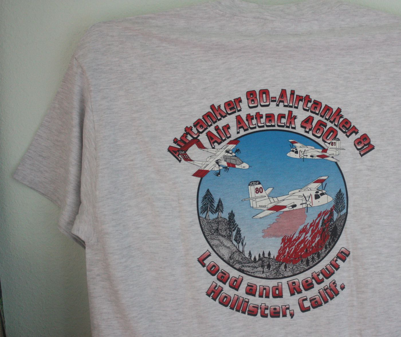 Santa Cruz Local Air Tanker Tee
