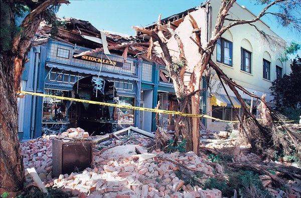 quake aftermath