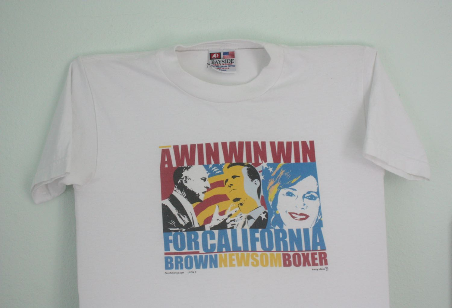 California Demo Candidate Slate 2008 or 2012 Tee