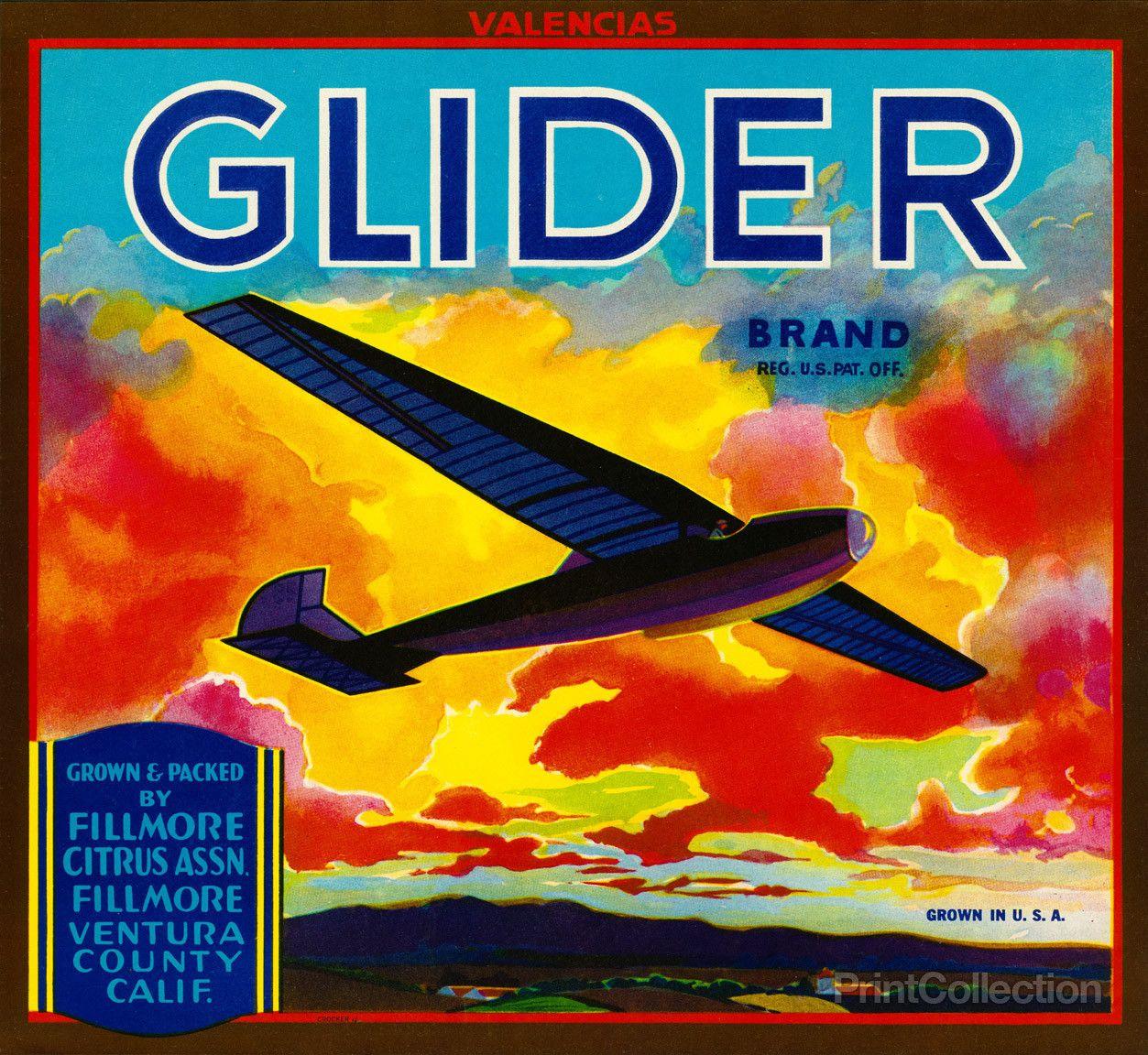 Glider Label