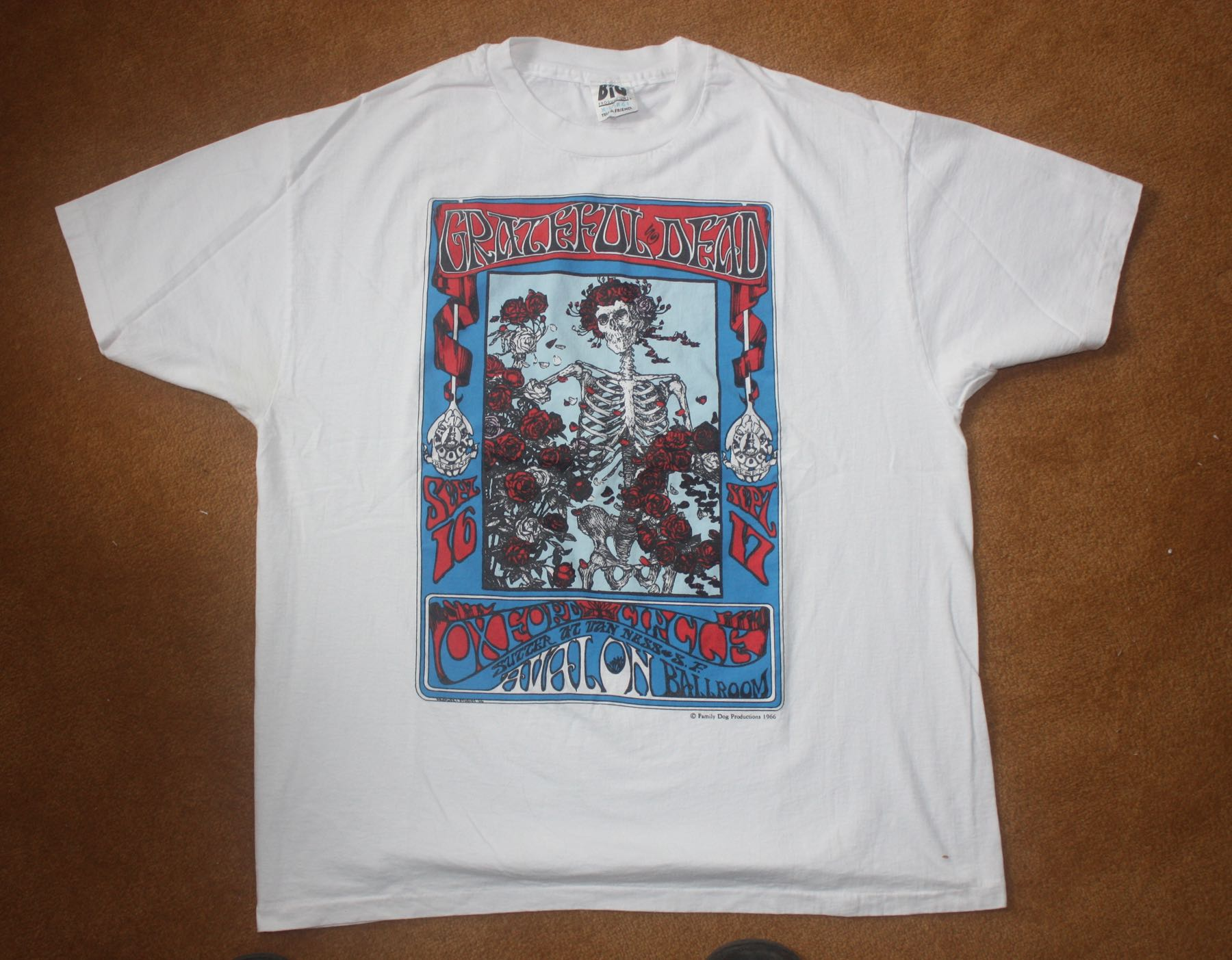Grateful Dead Parking Lot Tee