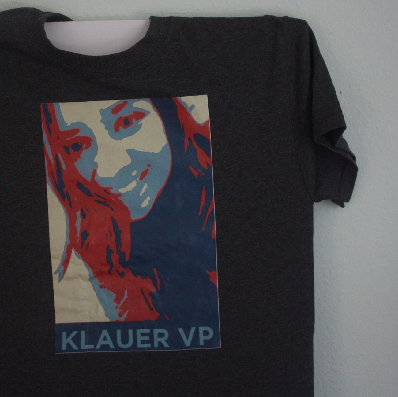 Klauer VP Automated Obama Icon Tee