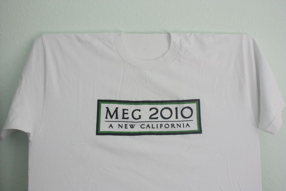 Meg Whitman for CA Governor Tee