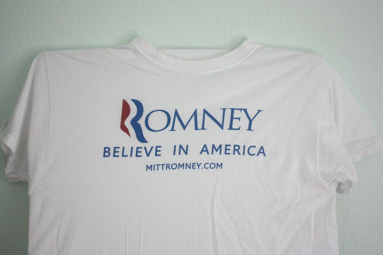 Mitt Romney Capanign Tee