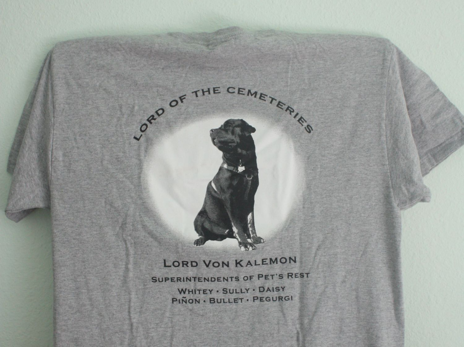 Pets Rest Colma Pet Cemetery Tee 1