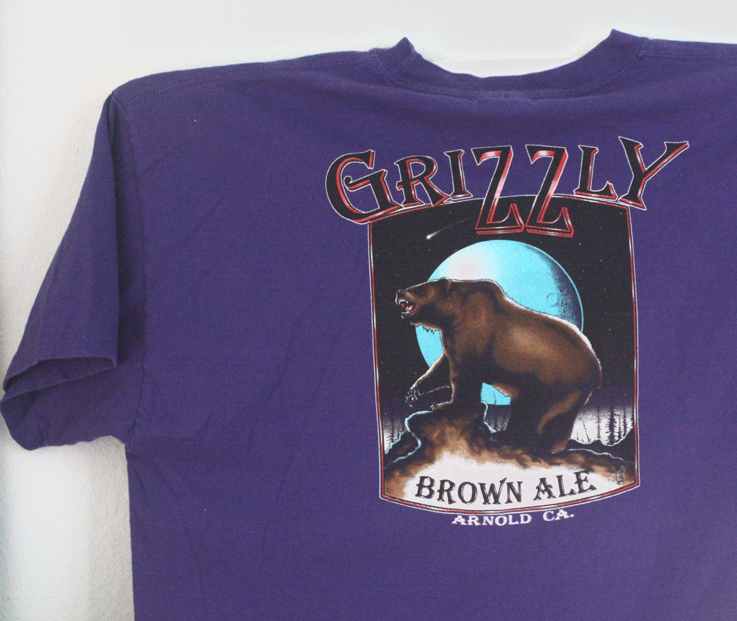 Snowshoe Brewing Grizzly Brown Ale Tee 2