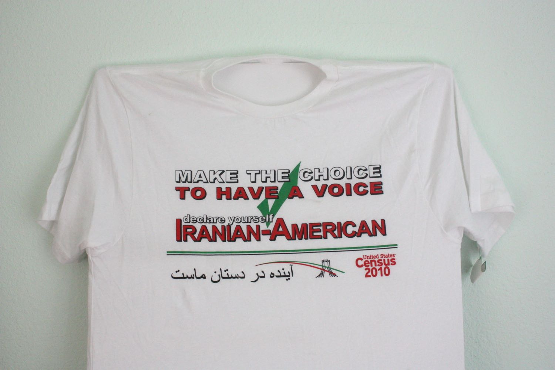 Declare Iranian American! Census Tee