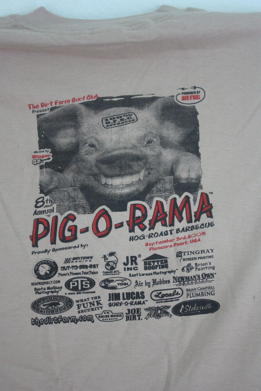 Dirt Farm Pig o Rama Tee 1