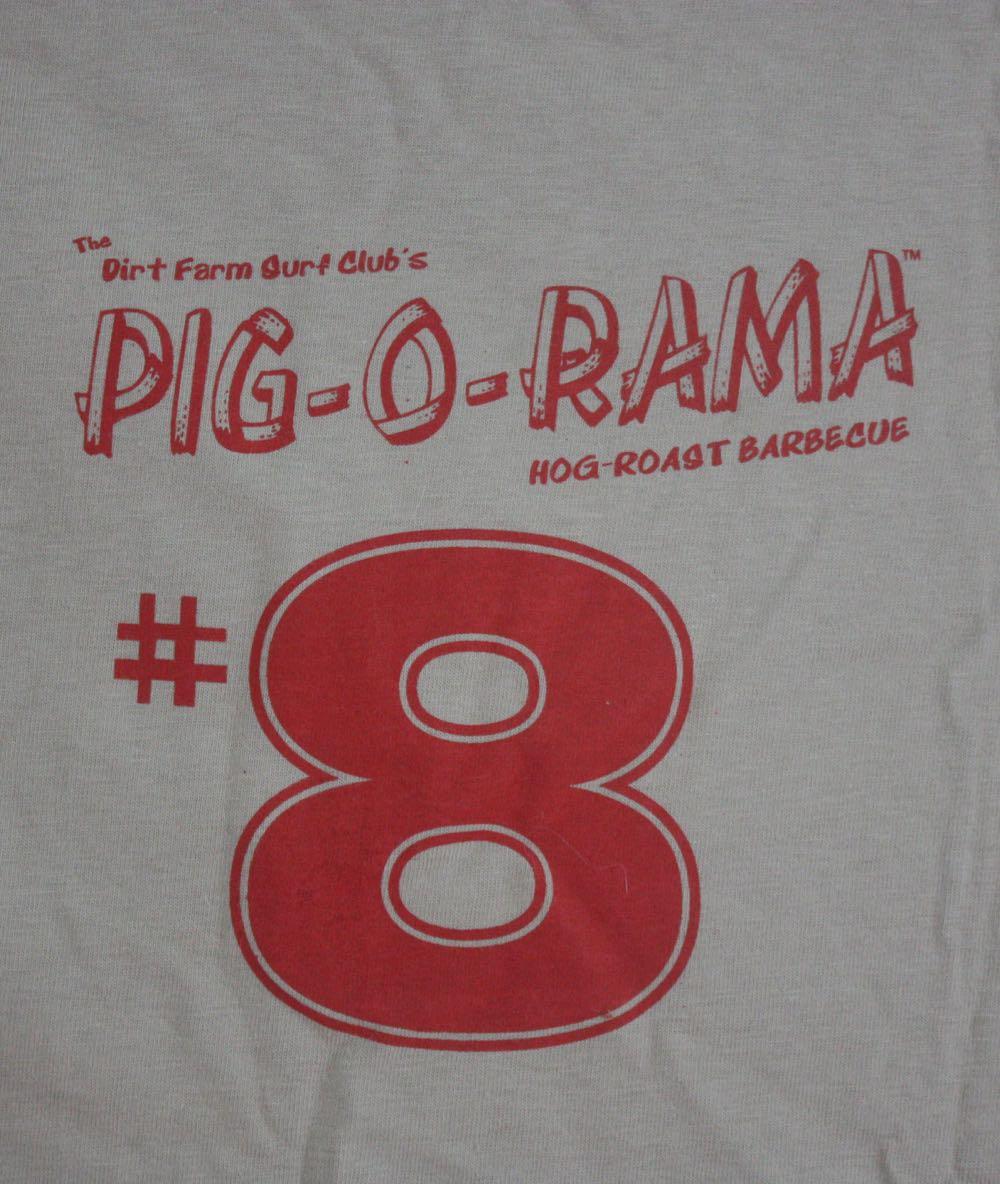 Dirt Farm Pig o Rama Tee 2
