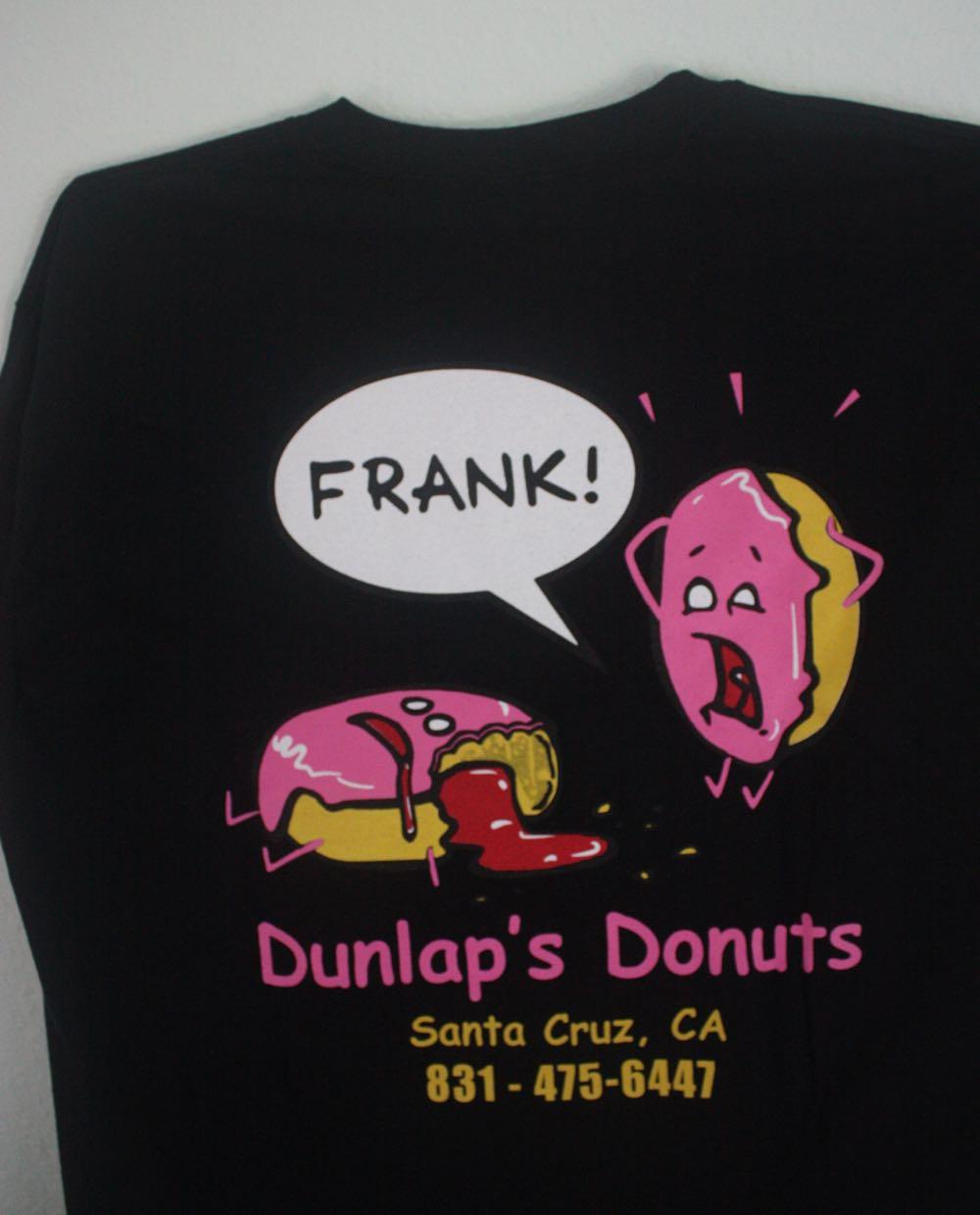 Dunlap's Donuts Santa Cruz Tee 1