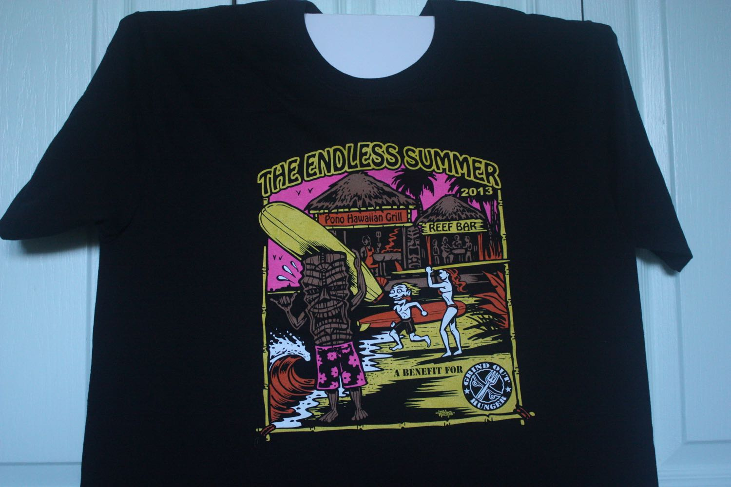 Grind Out Hunger Event Tee by Jimbo Phillips