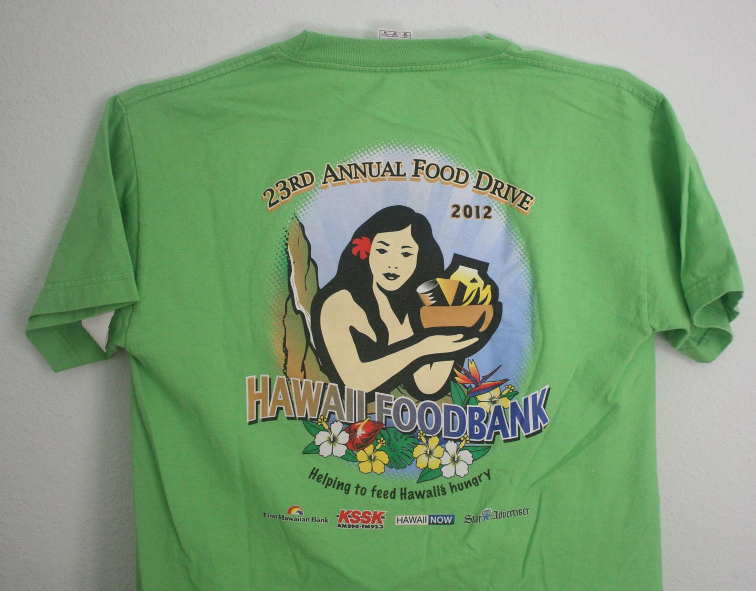 Hawaii Food Bank Tee 2