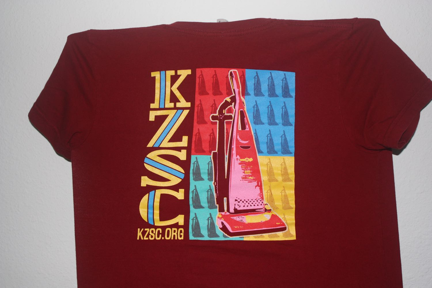 KZSC Tee -- Commercial Radio Sucks 2