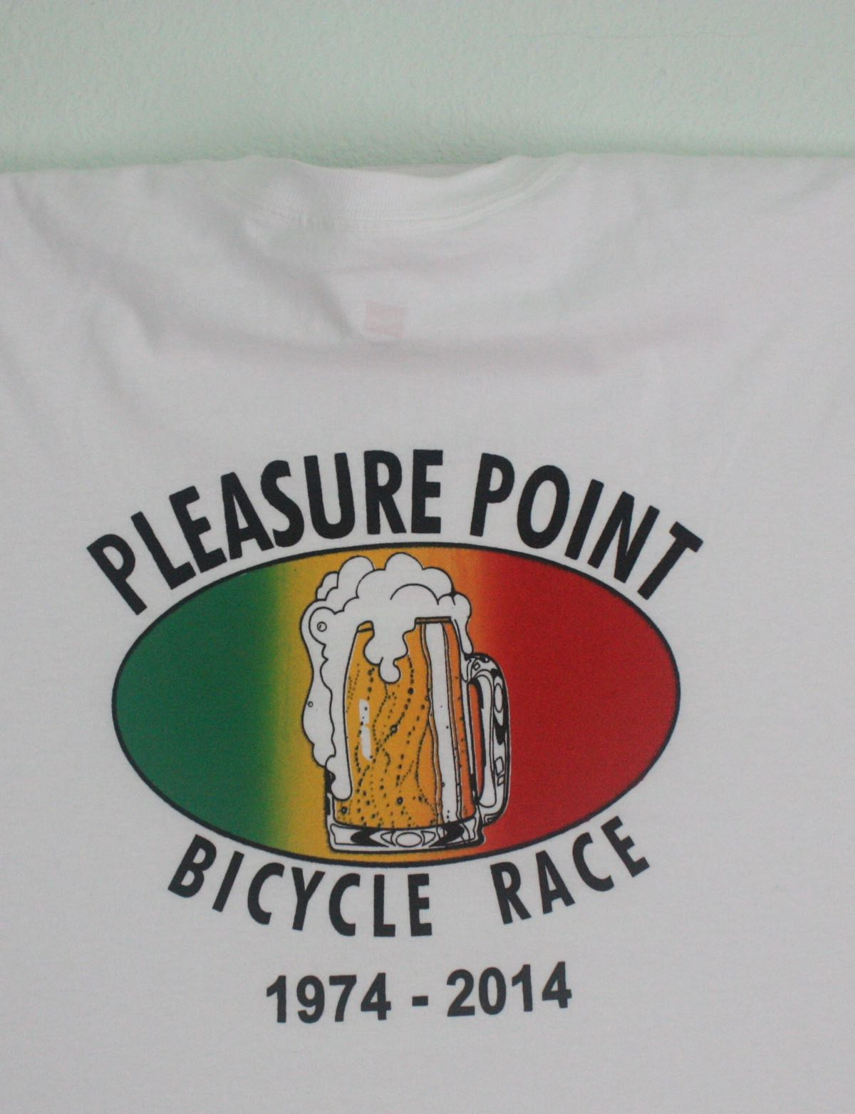 Pleasure Point Bike Race 40th Anniversary Tee