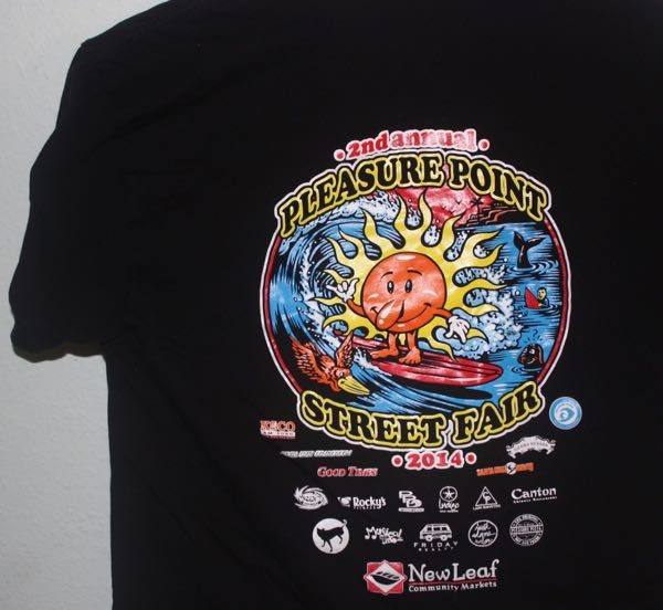 Pleasure Point Street Fair 2014 Tee