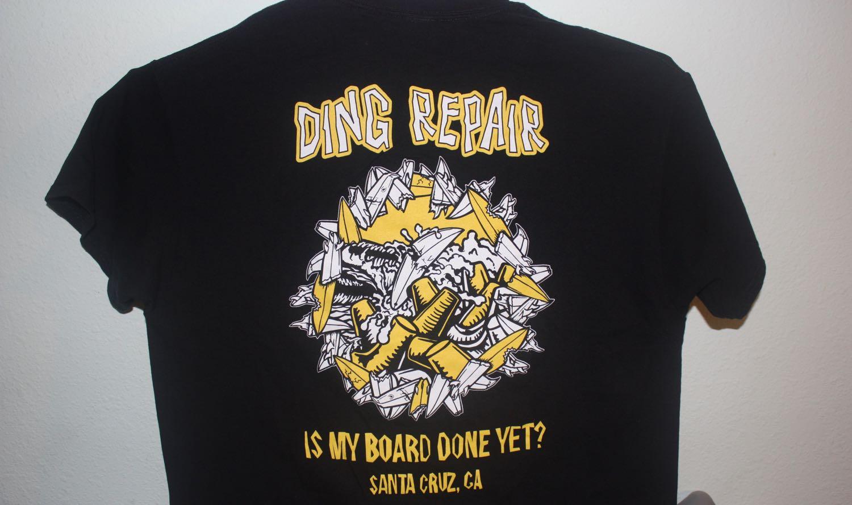 Santa Cruz Board Ding Repair 1