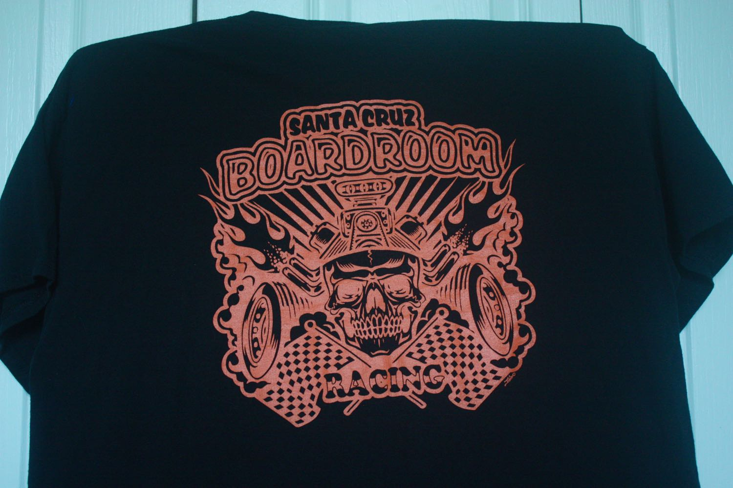 Santa Cruz Boardroom Skateboard Racing Team Tee