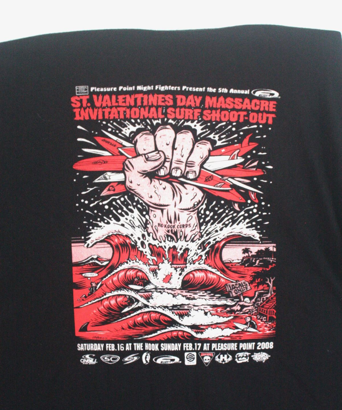 Valentine's Day Massacre Surf Contest Tee