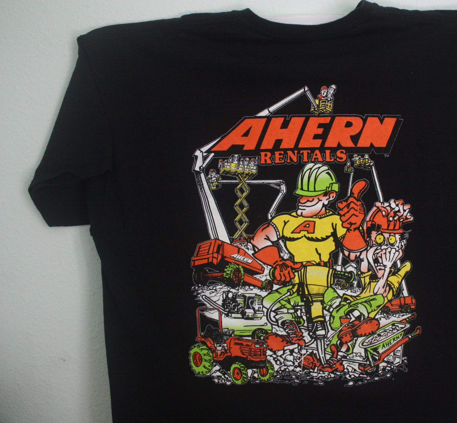 Ahern Equipment Rental Jackhammer Through Foot Tee
