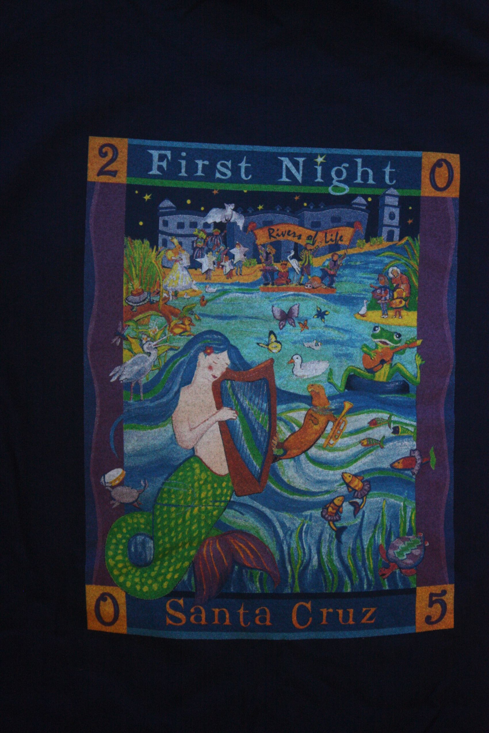 First Night 2006 back iew