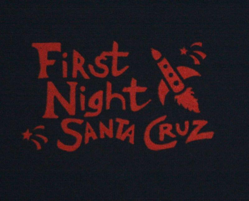 First Night Santa Cruz 2001 Tee 2