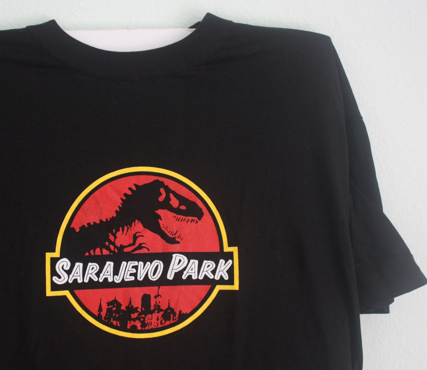 Sarjevo Park Graphic Artists Under Siege Tee