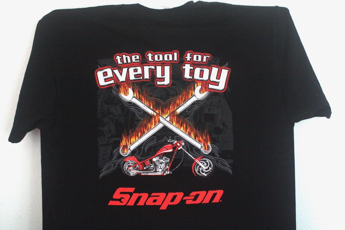 Snap-On Flaming Crescent Wrenches Tee