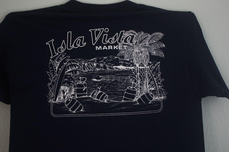 Isla Vista Market Beer Kegs in Paradise Tee