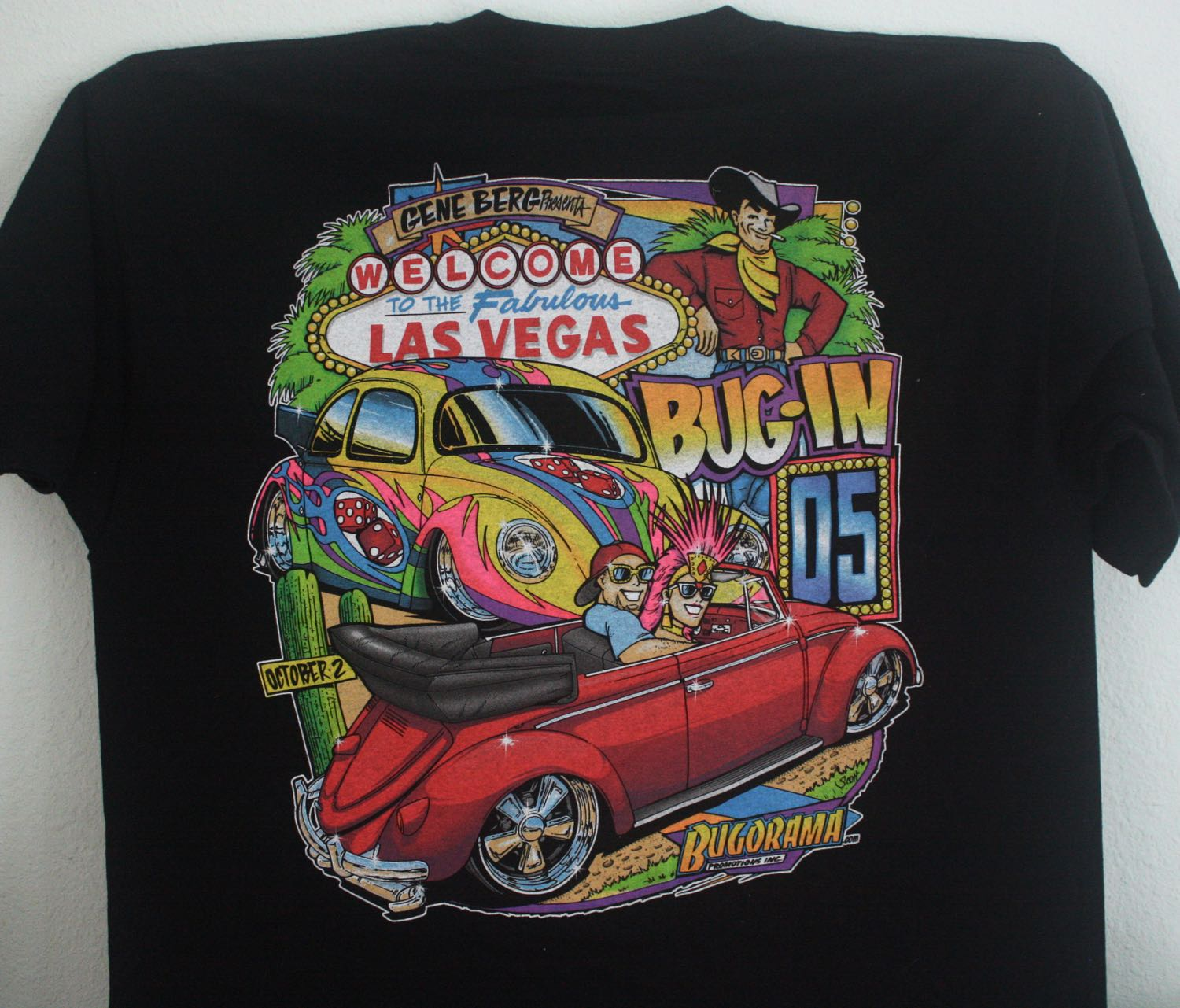 Las Vegas Bug-in VW Fest Tee