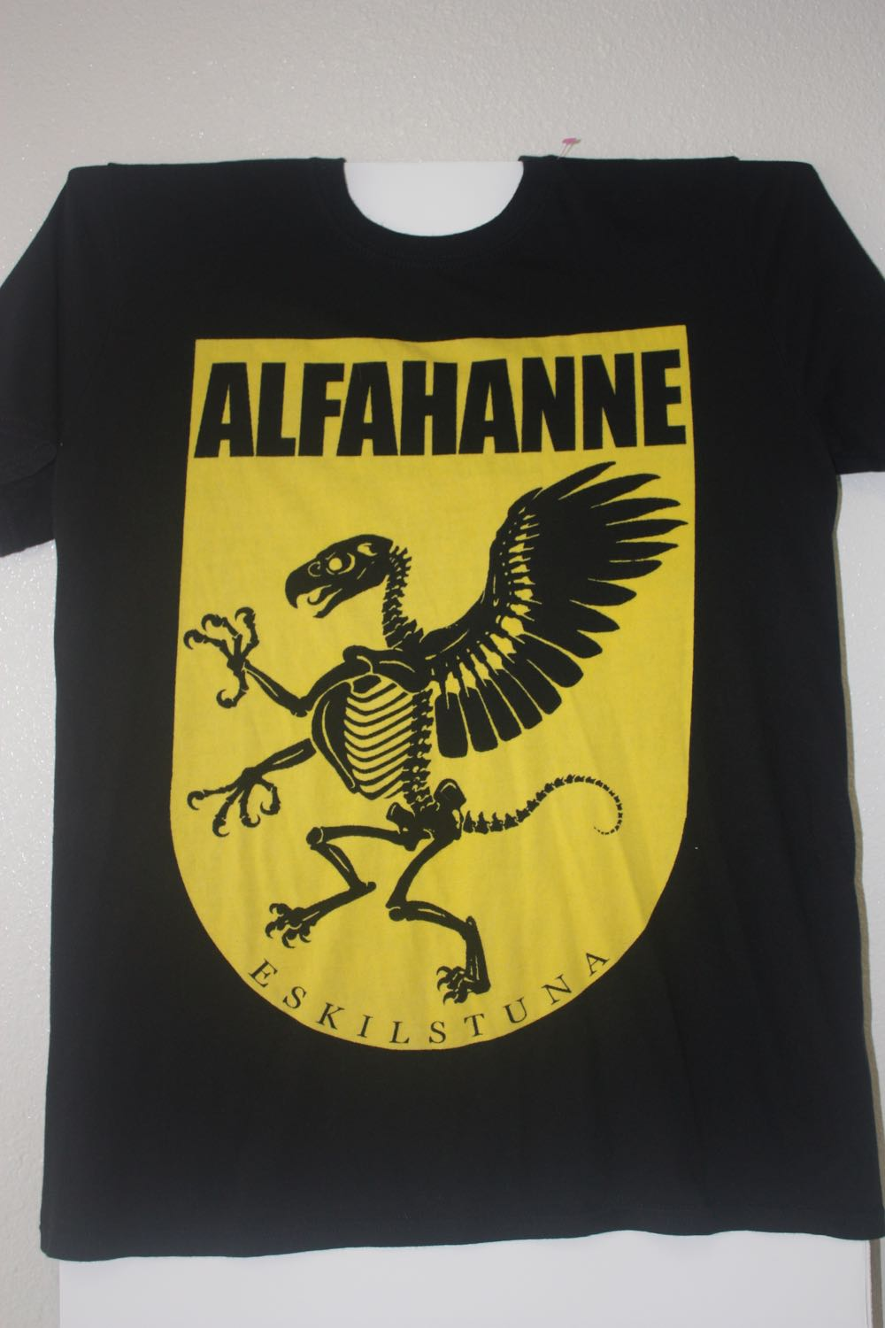 AlfaHanne Bird Skeleton Death Metal Tee